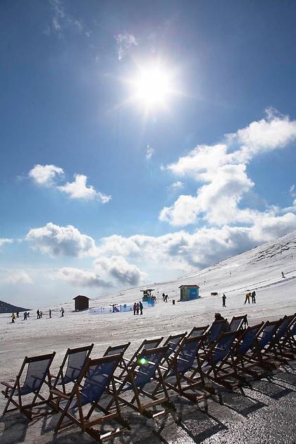 Ski Resort, Kaimaktsalan, Greece