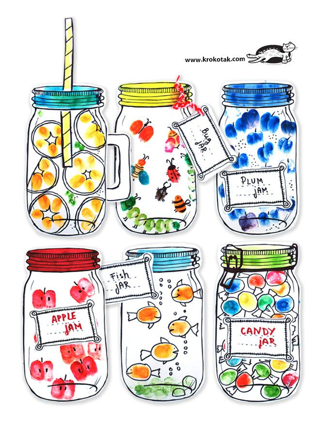 My fingerprint jar