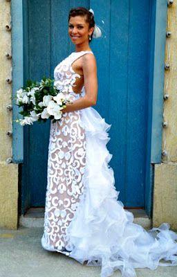 Vestido MARAVILHOSO da Ester, de Flor do Caribe