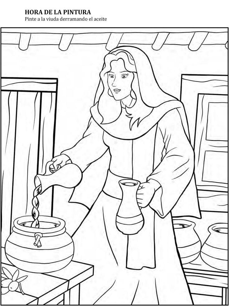 Eliseo y la viuda actividades buscar con google - Cosas de manualidades para ninos ...