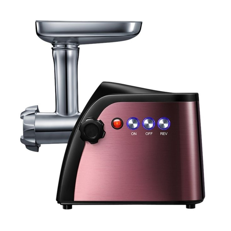 Electric Digital Light Touch Stainless Steel Meat Grinder