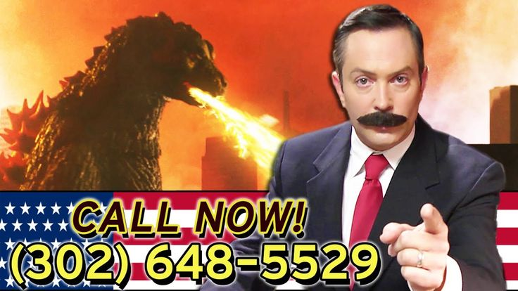 Are you the victim of a Godzilla monster attack? Jorge Rivers (Thomas Lennon) is on your side, and you may be entitled to money! Call now! (302) 648-5529 Vis...