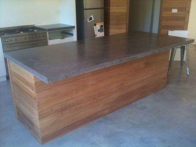 Top 203 ideas about float concrete concepts on pinterest for Cheap kitchen benchtop ideas