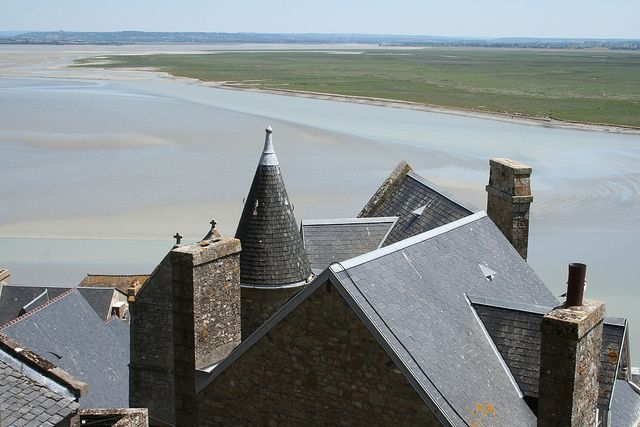 Mont Saint Michel by cocoate.com, via Flickr