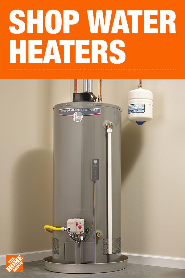 Water Heaters At The Home Depot Diy Plumbing Diy Home Repair Water Heater