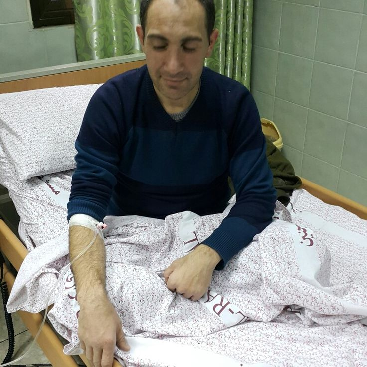 In Alrazi hospital after car accident, DECEMBER 2015, at that time I had VW Polo 2009