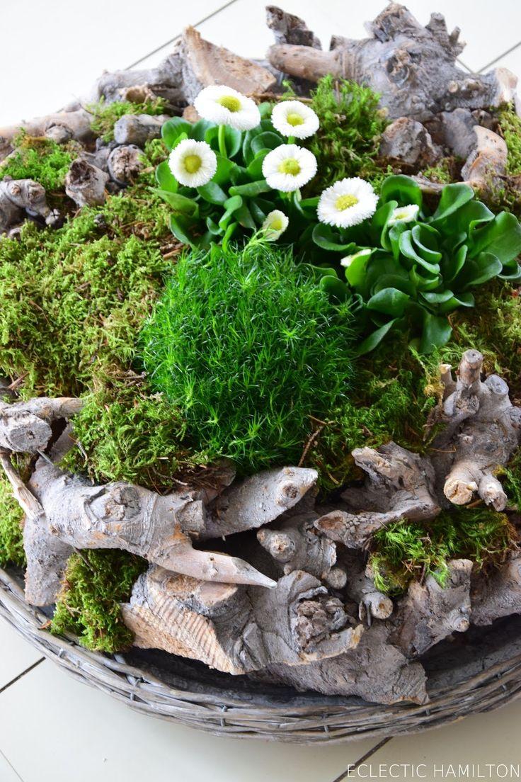 die besten 25 osternest basteln moos ideen auf pinterest moos pflanzen pflanzentisch und. Black Bedroom Furniture Sets. Home Design Ideas