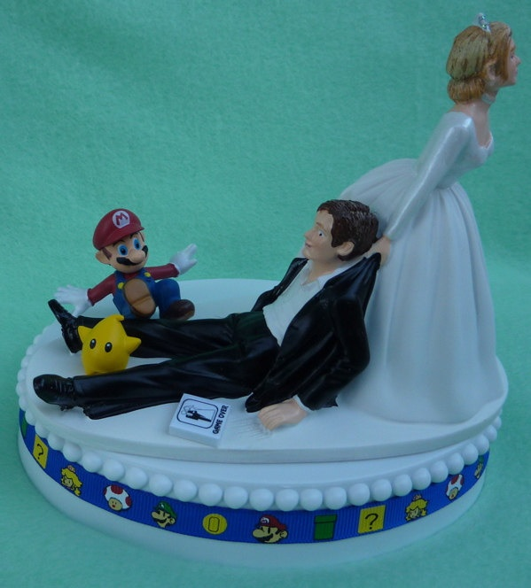 gamer wedding cake topper 1000 images about wedding on 4440