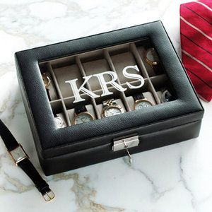 Personalized Watch Box,,Absolutely PERFECT for my daddy