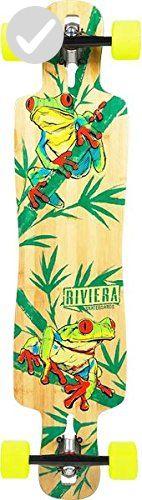 "Riviera Drop-Thru La Rana Complete Downhill Longboard Skateboard - 9.5"" x 40"" - Fun stuff and gift ideas (*Amazon Partner-Link)"