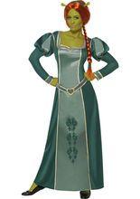 Shrek Fiona Comic Lizenz Film Damenkostüm grün, aus der Kategorie Film- & Promikostüme. Verwandeln Sie sich in Prinzessin Fiona, die liebreizende Oger-Gemahlin von Shrek. Mit diesem Outfit werden Sie garantiert für jede Menge Spaß bei Fans der Shrek-Reihe sorgen! Genial für Karneval und Mottopartys.
