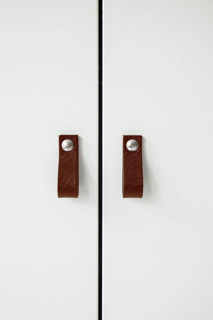 Design Studio Nu - leather handle size 4 - chestnut
