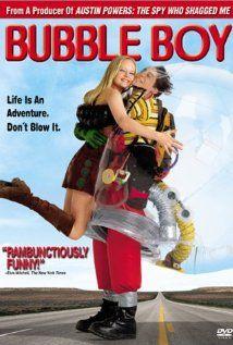 Jake Gyllenhaal, Swoosie Kurtz, Marley Shelton. Director: Blair Hayes. IMDB: 5.4  ____________________________ http://en.wikipedia.org/wiki/Bubble_Boy_(film) http://www.rottentomatoes.com/m/bubble_boy/ / http://www.metacritic.com/movie/bubble-boy http://www.tcm.com/tcmdb/title/451041/Bubble-Boy/ http://www.allmovie.com/movie/bubble-boy-v250493