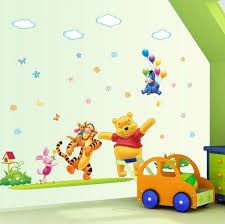 Pooh and Friends Wall Decal Nursery Baby Kids Infant Children Room Home Decor Tips Ideas.  www.eshopperswarehouse.com