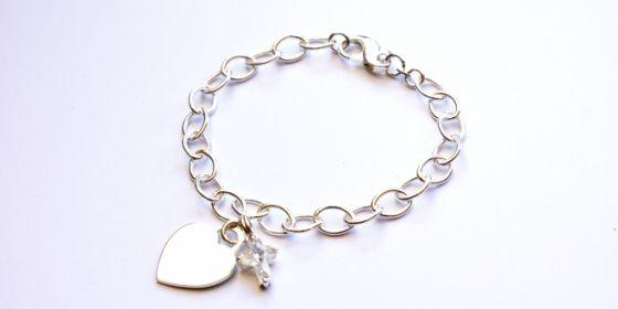 Chunky Charm Bracelet. Find it at www.giftedmemoriesjewellery.com.au