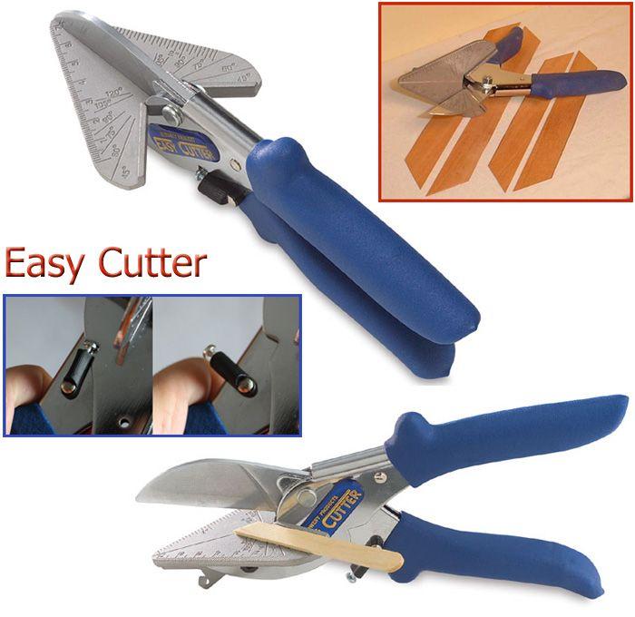 Easy Cutter / 1pc      Gunting khusus untuk memotong bahan kayu tipis.     Dilengkapi dengan tanda potong derajat ( untuk memotong dengan sudut tertentu ).     Cocok untuk pekerjaan pembuatan model ( maket ) Diorama dll     Kapasitas potong : kayu ketebalan 12mm ( bisa juga untuk plastik dll )  #id15392