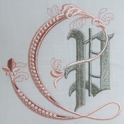 Fleur de Lis Alphabet- P: