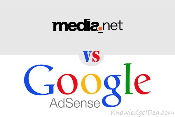 Google AdSense Vs Media.net