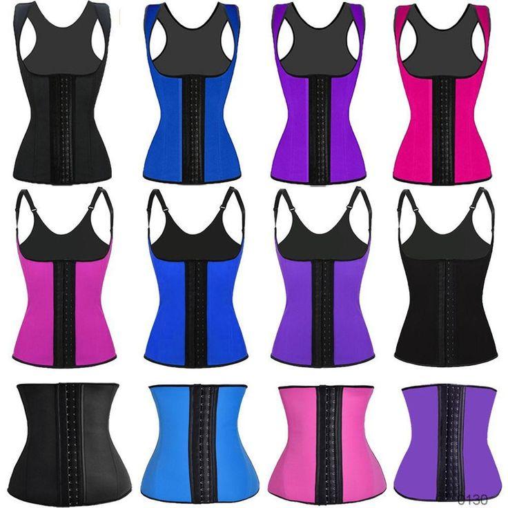 China factory drop ship custom oem lable packing Latex Waist Cincher Women Sport Slimming Body Shaper Corset Waist Trainers