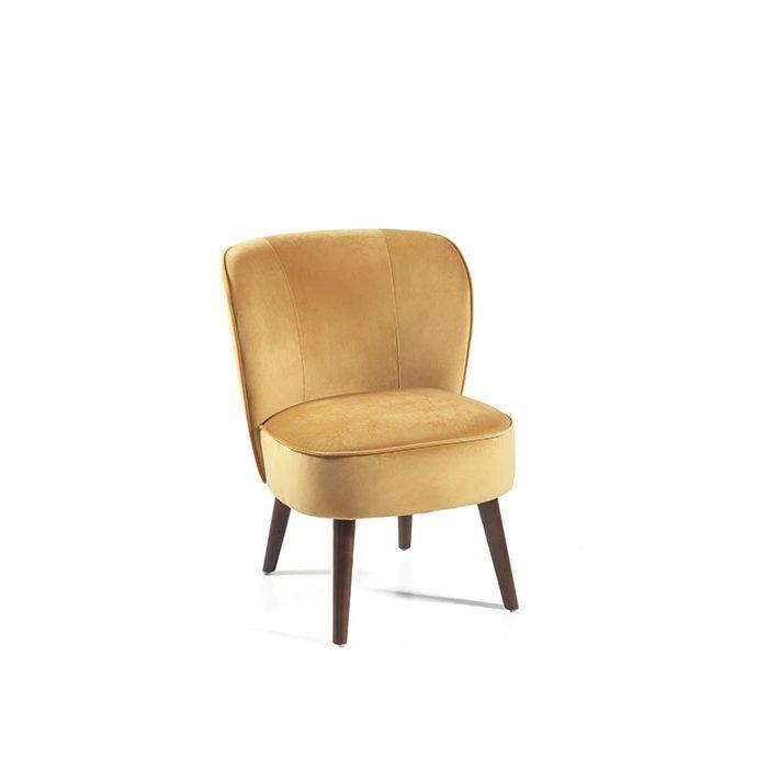 fauteuil tissu gris anthracite pieds