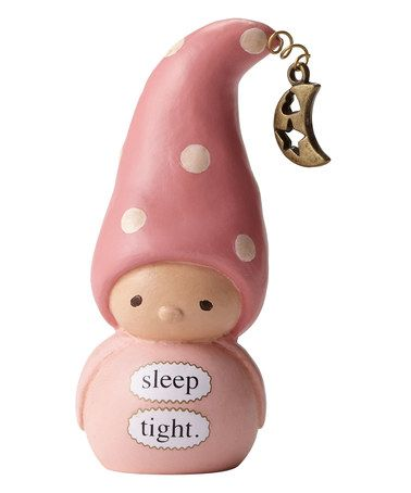 Love this Bea's Wees 'Sleep Tight' Girl Mini Figurine on #zulily! #zulilyfinds
