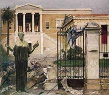 Κώστας Μαλάμος, Την άλλη μέρα, Μουσείο Βορρέ