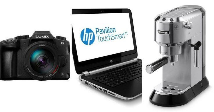 1 machine à café Delonghi +1 ordinateur HP+1 appareil photo Panasonic à REMPORTER !