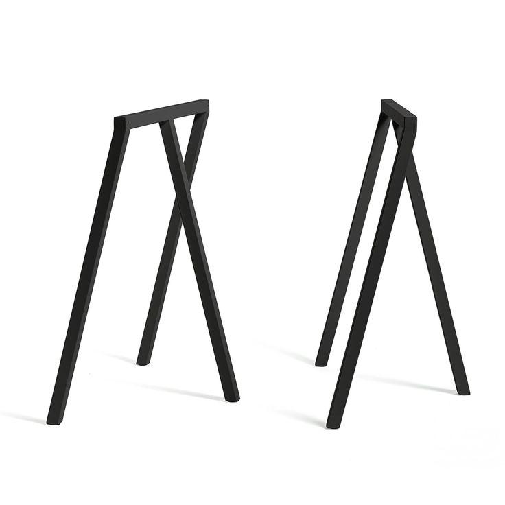 Hay - Loop Tischböcke Stand Frame, schwarz (2 Stück) - Einzelabbildung
