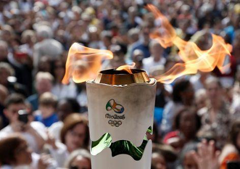 Rio 2016 Torch Relay Traverses Eastern Coast