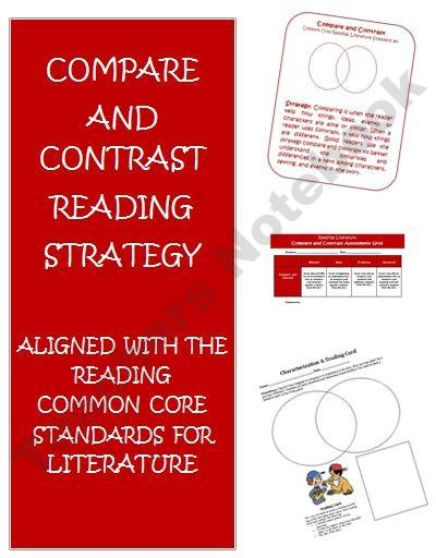 compare contrast essay common core Literacy consultant sarah tantillo shares more ideas about preparing students to succeed on common core assessment tests this time: compare and contrast essays.