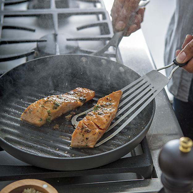 Calphalon Unison ™ Sear Nonstick Grill Pan in Griddles & Grill Pans | Crate and Barrel