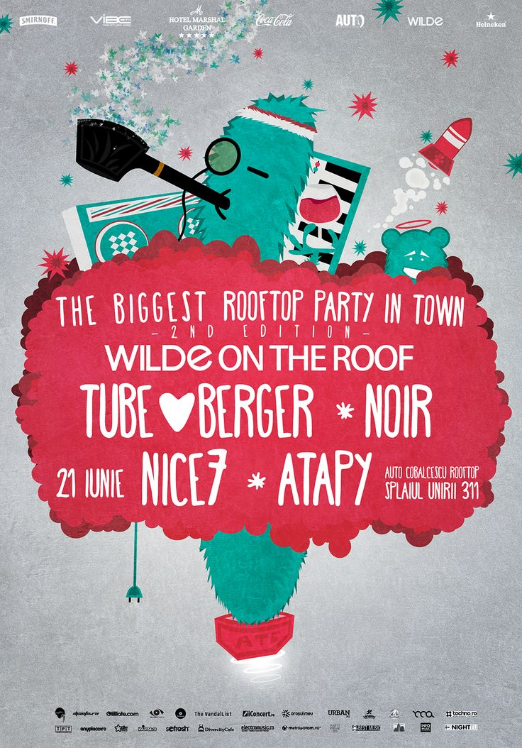 The Biggest Rooftop Party in Town Bucharest - second edition