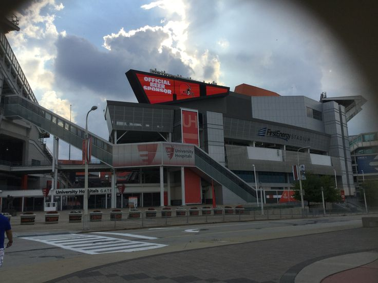 First Energy Stadium Home of the Cleveland Browns