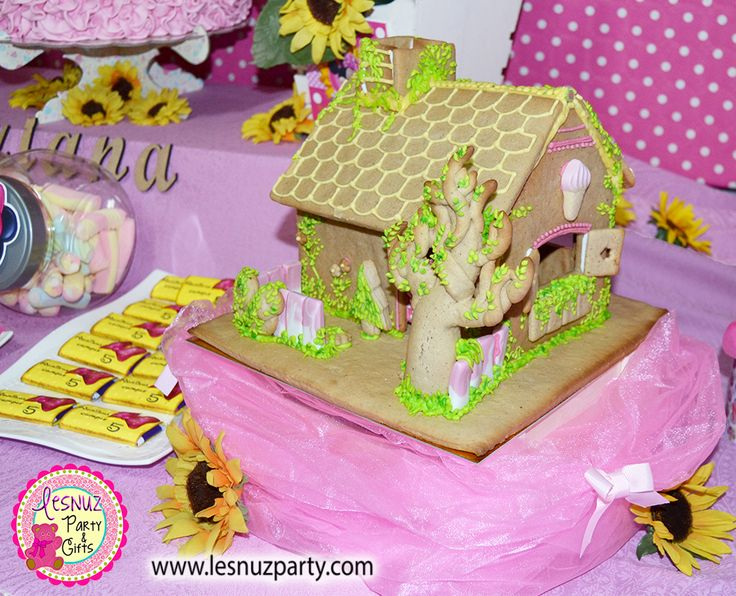 La Casita de Minnie Mouse Lesnuzparty cumpleaños temático - Minnie Mouse's House birthday themed