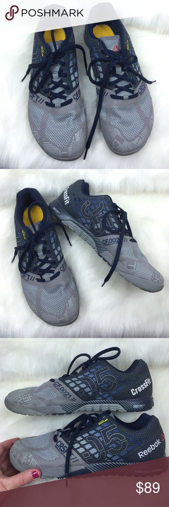 REEBOK MENS CROSSFIT KEVLAR, 11 VERY NICE preowned condition! Get them here for way cheaper than brand new! *These do not have the insoles. REEBOK CROSSFIT SHOES! MENS size 11! 202F17P Reebok Shoes Athletic Shoes