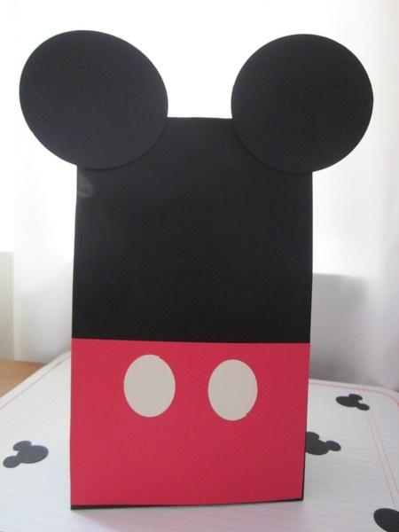 Mickey Mouse goody bag gift sack