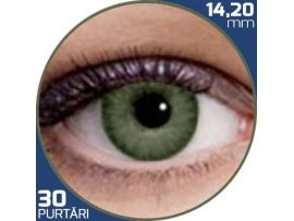 Air Optix Colors Green | lentile de contact colorate verzi lunare - 30 purtari (2 lentile/cutie)