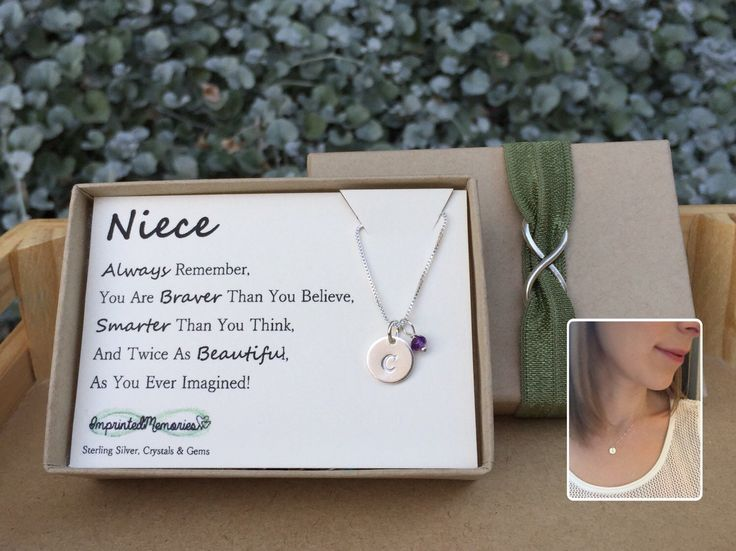 First Birthday Present Ideas For Niece Gifts Birthstone Jewelry Sterling
