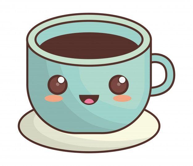 Koffiekopje Kawaii Pictogramafbeelding P Premium Vector Freepik Vector Koffie Karakter Spotprent Komisch In 2021 Kawaii Spotprent Kopje Koffie