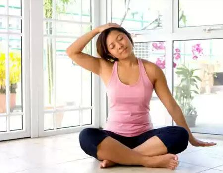 Шесть поз йоги от головной боли: Группа Фитнес и диеты