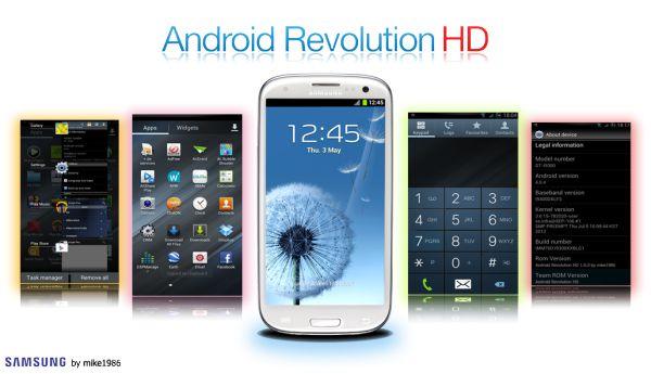 Install Android Revolution HD v40.0 on Galaxy S3 I9300 Android 4.3 Jelly Bean Custom ROM