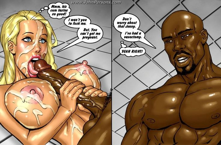 Black Shower Sex Comics - Cum covered whore in a shower on this cartoon sex comics