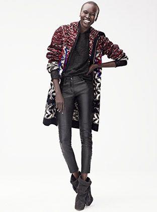 Isabel Marant pour H&M De 'Isabel Marant pour H&M' collectie is Parijse chic met een urban attitude. Mix en match om je eigen stijl te creëren.
