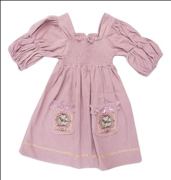 G-4008 Bella Dress Antique Rose