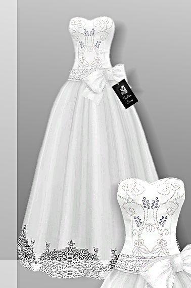 sims 4 cc's - the best: wedding dresscrownfashion does anyone