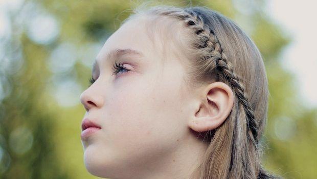 L'acconciatura semplice per bambina per capelli lunghi, medi o corti