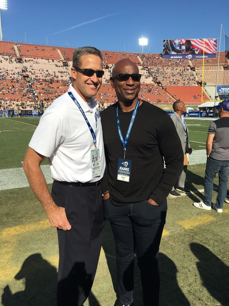 Whose House?  @RamsNFL House!  @EricDickerson @Jim_Everett