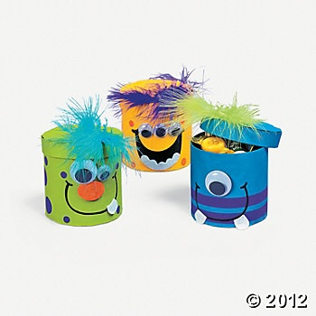 Silly Monster Treat Box Craft Kit