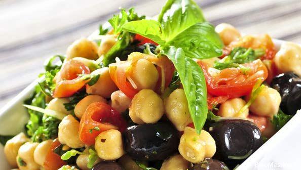 Insalata fredda di ceci | Cold chickpeas salad