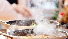 Eliminare l'odore di fumo e cibo